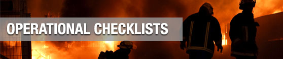 Operational Checklists