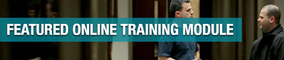 Featured Online Training Module